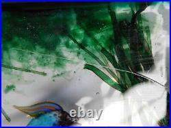 #1 Authentic Murano Cenedese 1950s Barbini & Licata Glass Fish Aquarium