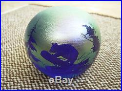 1979 ORIENT & FLUME PAPERWEIGHT SIGNED & NUMBER 17/200 L. RICHTER