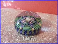 1987 Perthshire Paperweight PP98 Complex Canes