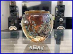 1992 JOSH SIMPSON Art Glass SIGNED Paperweight Vase