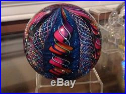 2006 James Alloway glass paperweight