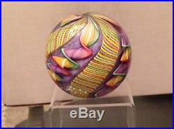 2007 James Alloway glass paperweight