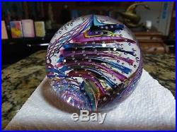 3 1/4 James Alloway 2006 Art Glass #271 Paperweight