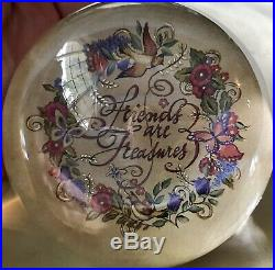 32 Art Glass Paperweights Joe Rice Grose Unsigned Very Nice Beautiful Lot