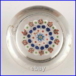 A Baccarat Concentric Paperweight c1850