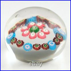 A Clichy Miniature Concentric Paperweight c1860