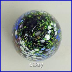 A Fine Peter Raos 1993 Monet Series Art Glass Paperweight Scent Bottle