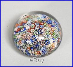 Antique Baccarat French Glass Paperweight, Signed Dated 1847, Animal Canes