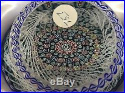 Absolutely stunning St Louis 1981 Basket of Flowers Limited Edition 757