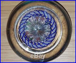 Antique Baccarat Millefiori Mushroom Glass Paperweight