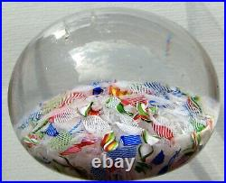 Antique Baccarat Paperweight / Briefbeschwerer