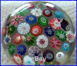 Antique CLICHY Paperweight c. 1850, France -Brilliant