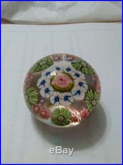 Antique Clichy miniature paperweight