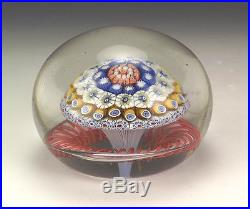 Antique French Glass Millifiori Paperweight Clichy, St Louis or Baccarat