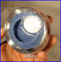 Antique Perthshire Style Baccarat Glass Paperweight Millefiori Glass Crystal
