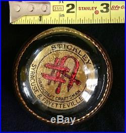 Antique STICKLEY paperweight. Rare item
