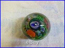 Aro Schulze Signed Tidepool Magnum Paperweight