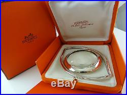 Authentic Vintage Hermes Eye Of Cleopatra Magnifying Glass Paperweight