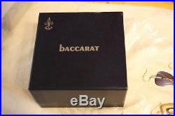 BACCARAT Crystal France MILLEFIORI Art Glass Paperweight box 1970 numbered