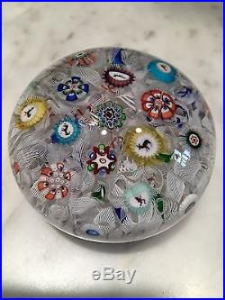 BACCARAT Paperweight Dated 1848