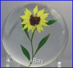 BEAUTIFUL Paul STANKARD Important DAISY EXPERIMENTAL Art Glass PAPERWEIGHT