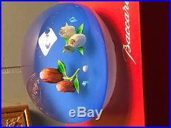 Baccarat Ltd EDITION Coeurs de Rose'Semis de Roses' Paperweight