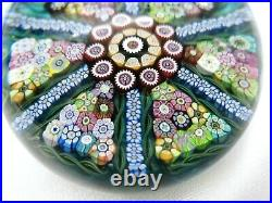 Beautiful 1980 Ltd Ed. Perthshire Paperweight PP41 Teal Blue FREE SHIPPING