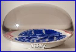 Beautiful & ANTIQUE Millville LEONARD SPENGLER Art Glass Paperweight
