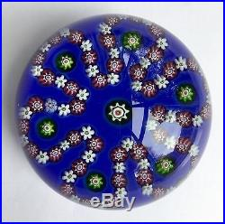Beautiful LARGE PARABELLE PAPERWEIGHT Looped Garland 1990 Perfect, MINT