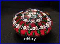 Beautiful St Louis Spiral Cane Paperweight