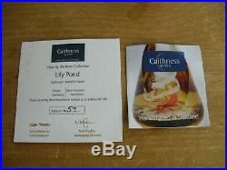 Boxed Ltd Ed Caithness Lily Pad Paperweight Colin Terris(320/350)