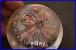 Briefbeschwerer Paperweight BACCARAT 1849 ANTIK Concentric Millefiori #2
