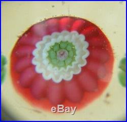 Briefbeschwerer Paperweight Clichy antik 1 + 5 hidden roses