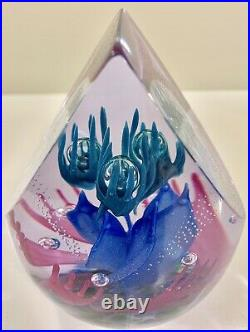 Caithness Scotland Limited Edition of 150 Go With The Flow Paperweight #5/150