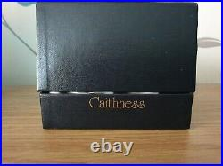 Caithness limited edition glass paperweight designed by william manson boxed