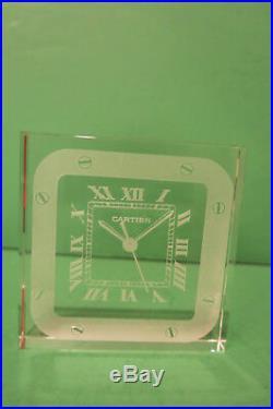Cartier Paperweight Santos Watch Design w Red Box