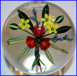 Chris Buzzini Bouquet Paperweight