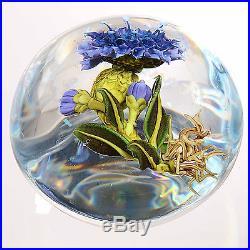 Christine STANKARD (Kressley) Plant withBlue Flower