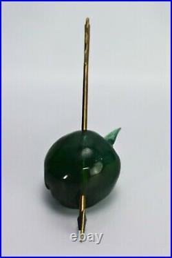 Daum Apple Sculpture Lost Arrow Of William Tell Paperweight Pate de Verre