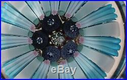EXQUISITE DAMON MacNAUGHT CLOSE PACKED Millefiori ArtGlass PAPERWEIGHT-Signature