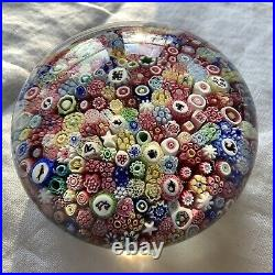 Exceptional Baccarat Close Pack Paperweight