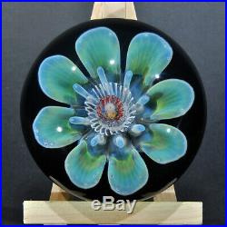 Fantasy Floral Paperweight by Trey Cornette