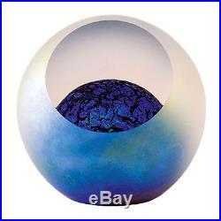 GLASS EYE STUDIO Celestial Series Paperweight Orion Blown Glass USA 510F KELPER