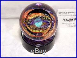 Glass Eye Studio God's Eye 517f Celestial Series Paperweight New