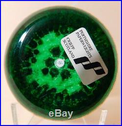 GREAT & SCARCE Perthshire PP207 with a Diamond Shape Center ArtGlass Paperweight