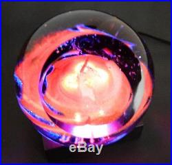 Glass Eye Studio Celestial A Star is Born Paperweight New for 2014 NIB 523F USA