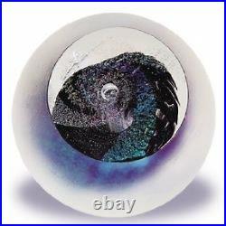 Glass Eye Studio Celestial Black Hole Art Glass with box- made in USA