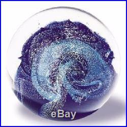 Glass Eye Studio Celestial Northern Lights Art Glass with box- made in USA