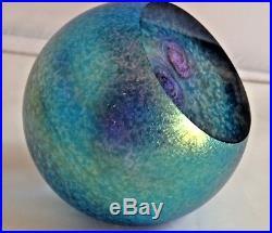 Glass Eye Studio New Celestial Soul Nebula Paperweight 515F