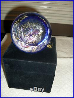 Glass Eye Studio Paperweight Milky Way No Story Card New Condition In Box
